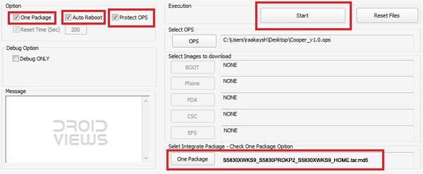 Apus message center intelligent management for samsung gt-s5830.